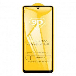 Für Samsung Galaxy A31 A315 2x 3D Display Full H9 Hart Glas Schwarz Folie Panzer