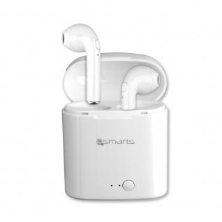 Wireless Stereo Headset Eara Weiß Headphone Kopfhörer EarPods Mikrofon Ear Pods