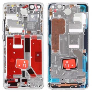 Mittelrahmen für Huawei P40 Pro Silber Middle Frame Rahmen Gehäuse Ersatzteil