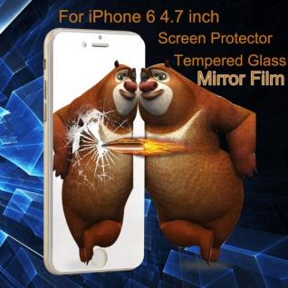 Premium 0, 26 mm dünne H9 Spiegel Hartglasfolie Folie für Apple iPhone 6 4.7 - Vorschau 4