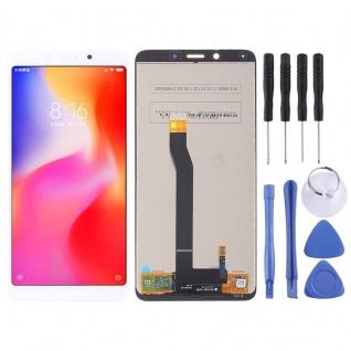 Für Xiaomi Redmi 6 / 6A Reparatur Display LCD Komplett Einheit Touch Weiß Neu