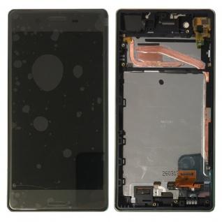 Sony Display LCD Komplett mit Rahmen für Xperia X F5121 F5122 Schwarz Ersatzteil