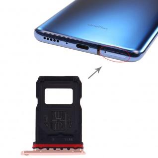 Simkarten Halter für OnePlus 7 Pro Gold Schlitten Ersatz Sim Card Tray Reparatur