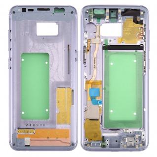 Mittelrahmen Rahmen Kamera Glas Gehäuse für Samsung Galaxy S8 G950 G950F Blau
