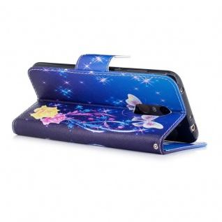 Für Huawei P20 Kunstleder Tasche Book Motiv 37 Schutz Hülle Case Cover Etui Neu - Vorschau 2