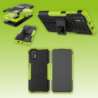 Für Motorola Moto G9 Plus Outdoor Grün Handy Tasche Etuis Hülle Cover Case Neu