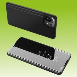 Für Xiaomi Mi 11 Lite View Smart Cover Hülle Schwarz Handy Tasche Etuis Case Neu