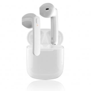 4smarts True Wireless Stereo Headset Eara SkyPods Weiß EarPods Kopfhörer Micro
