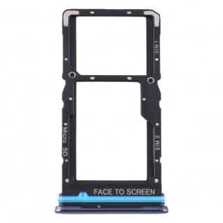 Für Xiaomi Mi 10T Lite 5G Card Tray Sim Karten Halter Blau Ersatzteil Reparatur