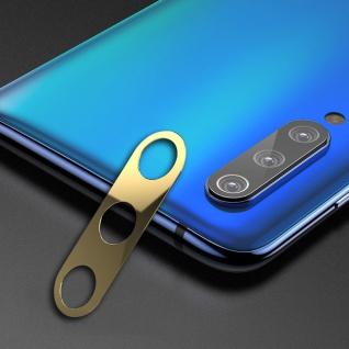 3 Pcs Rückseite Schutzrahmen für Xiaomi Mi 9 SE Gold Back Cam Ring Cover Kamera