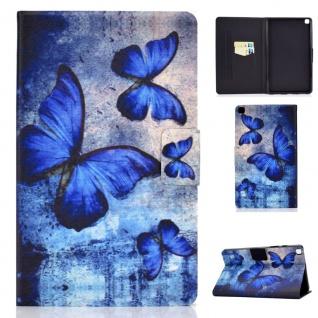 Für Samsung Galaxy Tab A7 2020 Motiv 60 Tablet Tasche Kunst Leder Hülle Etuis