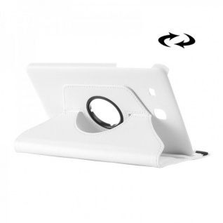 Schutzhülle 360 Grad Weiß Tasche für Samsung Galaxy Tab E 9.6 SM T560 T561 Hülle