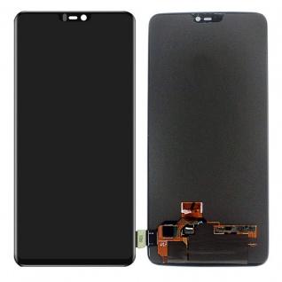 Für ONEPlus 6 SIX Reparatur Display LCD Komplett Einheit Touch Schwarz Ersatz