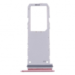 Sim Karten Halter für Samsung Galaxy Note 10 Pink Card Tray