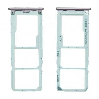 Für Xiaomi Mi A2 Lite / Redmi 6 Pro Karten Halter Sim Tray Schlitten Pink Neu