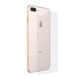 H9 Schutzglas Rückseite Akkudeckel für Apple iPhone 8 7 Plus Glass Film Transp.
