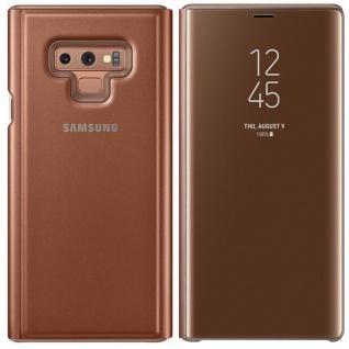 Samsung Tasche Clear View EF-ZN960CAEGW für Galaxy Note 9 N960 Hülle Cover Braun