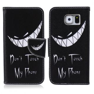 Schutzhülle Muster 62 für Samsung Galaxy S6 G920 G920F Tasche Cover Case Hülle