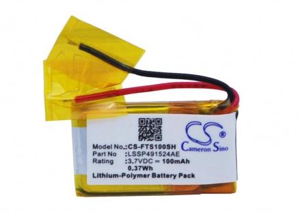 Akku Batterie Battery für FITBIT Surge ersetzt LSSP491524AE Ersatzakku Accu