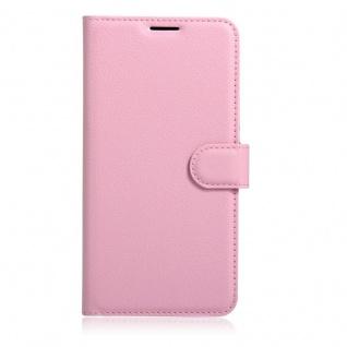 Tasche Wallet Premium Rosa für Huawei Honor 6C Hülle Case Cover Etui Schutz Neu - Vorschau 3