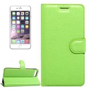 Schutzhülle Grün für Apple iPhone 8 und 7 4.7 Zoll Bookcover Tasche Case Cover