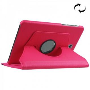 Schutzhülle 360 Grad Pink Tasche für Samsung Galaxy Tab S2 8.0 SM T710 T715N Neu