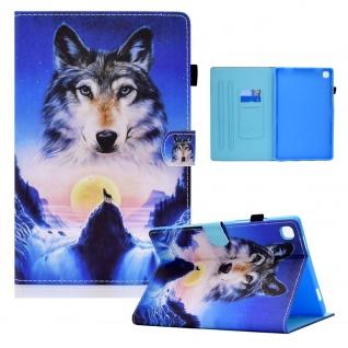 Für Samsung Galaxy Tab S6 Lite P610 Motiv 94 Tablet Tasche Kunst Leder Etuis Neu