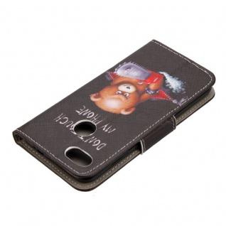 Tasche Wallet Book Cover Motiv 20 für Huawei P Smart Hülle Case Etui Schutz Neu - Vorschau 3