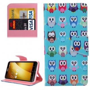 Für ASUS Zenfone 3 ZE552KL 5.5 Schutzhülle Muster 73 Tasche Cover Case Hülle Neu