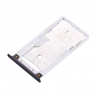 Für Xiaomi Redmi 4X Sim Karten Halter Sim Tray Sim / TF Schlitten Holder Schwarz