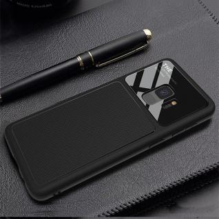 Design Cover Schwarz für Samsung Galaxy S9 G960F Schutz Etui Tasche Hülle Case - Vorschau 5
