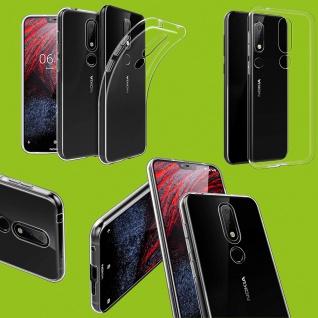 Silikoncase Transparent Ultra dünn Hülle für Nokia 4.2 5, 7 Zoll Tasche Etuis Neu