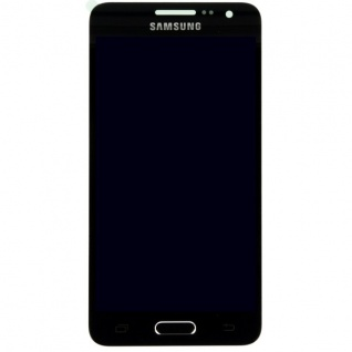 Display LCD Komplettset Touchscreen Schwarz für Samsung Galaxy A3 A300 A300F Neu