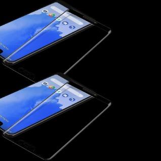 2x Für Google Pixel 3 XL 3D Premium 0, 3 mm H9 Hart Glas Schwarz Folie Schutz Neu