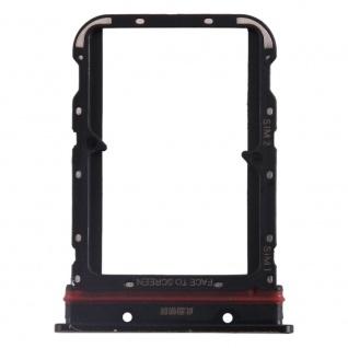 Für Xiaomi Mi Note 10 / 10 Pro Card Tray Sim Karten Halter Schwarz Ersatzteil