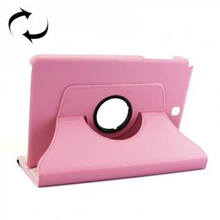 Schutzhülle 360 Grad Rosa Tasche für Samsung Tab A 9.7 T555 T555N T550 Hülle