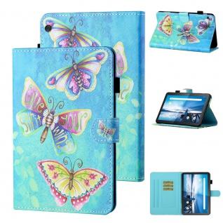 Für Lenovo Tab M10 10.1 Zoll Motiv 80 Tablet Tasche Kunst Leder Hülle Case Etuis