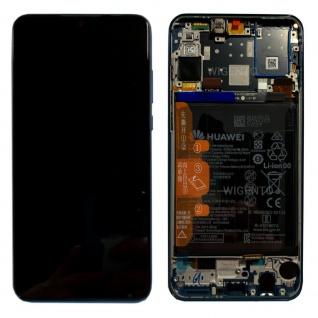 Huawei Display LCD Rahmen für P30 Lite Service 02352RPW Midnight Black / Schwarz