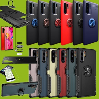 Magnet Ring Tasche Hybrid oder ultra dünn Design Etuis Hülle für Smartphones Neu