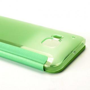 Smartcover Window Grün für HTC One 3 M9 Tasche Cover Case Hülle Etui Zubehör Neu - Vorschau 3