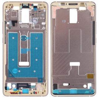 Gehäuse Rahmen Mittelrahmen Deckel für Huawei Mate 10 Pro Gold Reparatur Ersatz