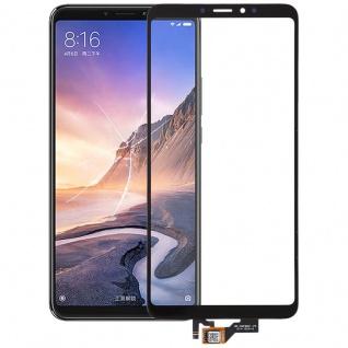 Reparatur Displayglas Touch Screen für Xiaomi Mi Max 3 LCD Schwarz Ersatz Neu