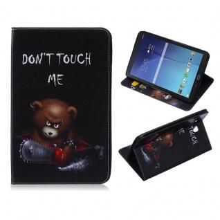 Für Samsung Galaxy Tab A 10.1 2019 T510 Motiv 34 Tasche Kunst Leder Hülle Etuis