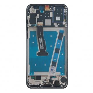 Für Huawei P30 Lite Display Full LCD Touch mit Rahmen Ersatz Reparatur Blau Neu