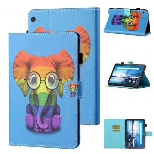 Für Lenovo Tab M10 10.1 Zoll Motiv 82 Tablet Tasche Kunst Leder Hülle Case Etuis