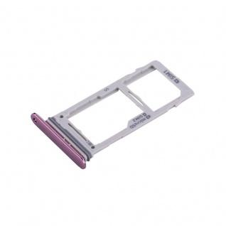 Für Samsung Galaxy S9 G960 / S9 Plus G965 Simkarten Halter Sim Tray SD Card Lila - Vorschau 4