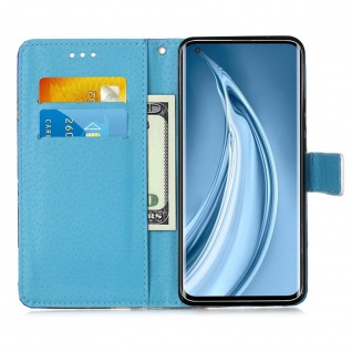 Für Xiaomi Mi 10S Kunst-Leder Handy Tasche Motiv 4 Hülle Case Etuis Schutz Cover