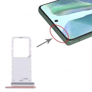 Sim Karten Halter für Samsung Galaxy Note 20 Pink Card Tray Ersatzteil