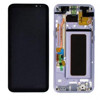 Display LCD Komplettset GH97-20470C Lila für Samsung Galaxy S8 Plus G955 G955F