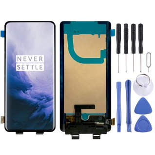 Für OnePlus 7 Pro Display Full OLED LCD Einheit Touch Screen Reparatur Schwarz